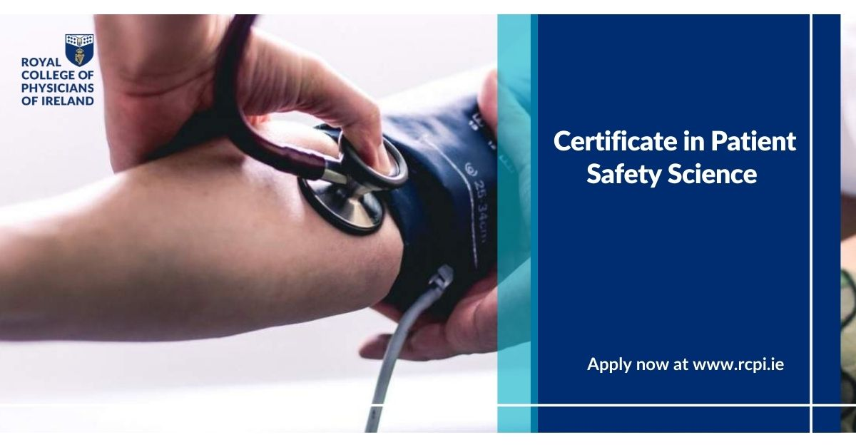 Certificate in Patient Safety Science Graphic 1